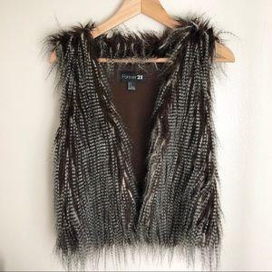 Forever 21 Fur Vest